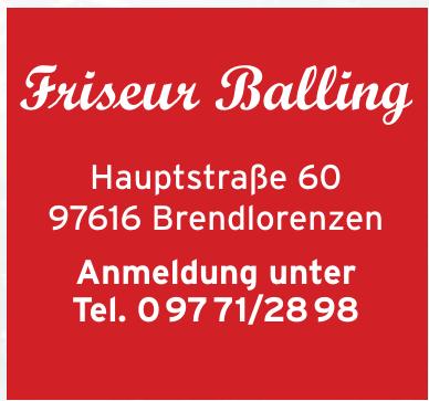 Friseur Balling