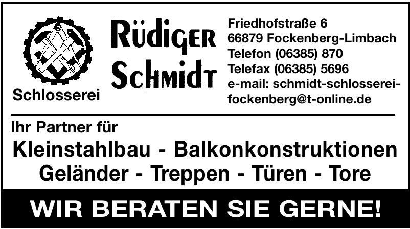 Rüdiger Schmidt Schlosserei