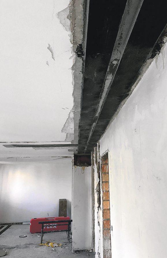 Bauwerkverstärkung mit CFK-Lamellen