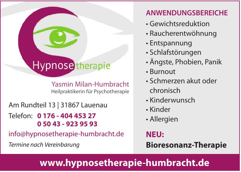 Hypnosetherapie Yasmin Milan-Humbracht