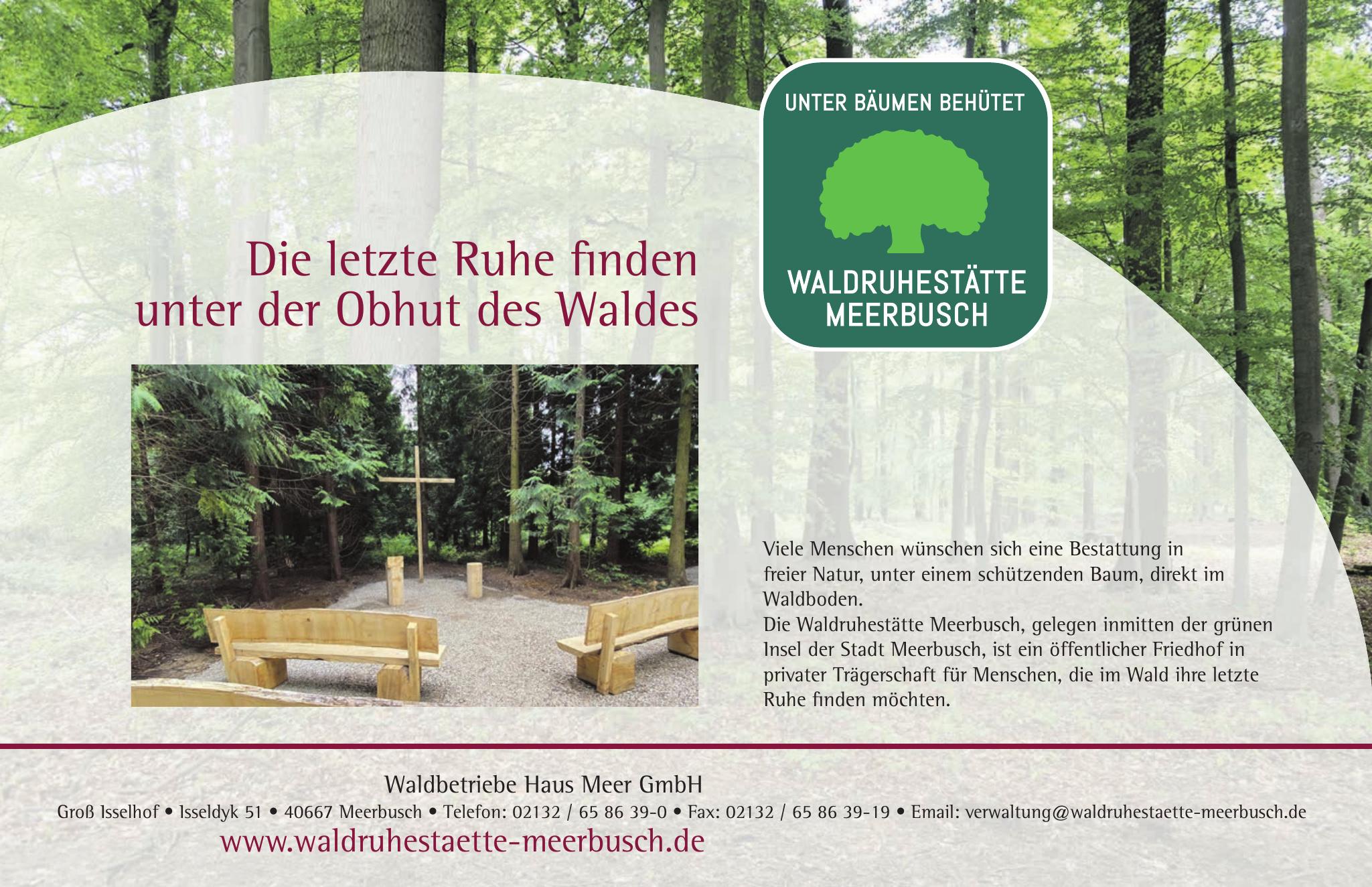 Waldbetriebe Haus Meer GmbH