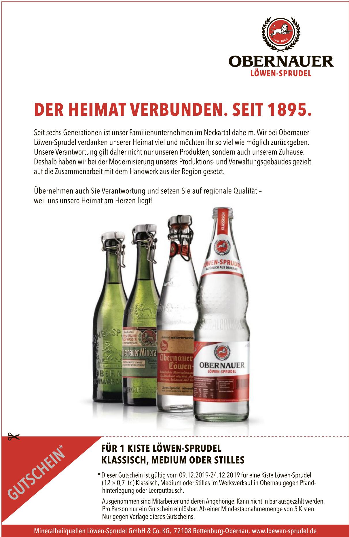 Mineralheilquellen Löwen-Sprudel GmbH & Co. KG