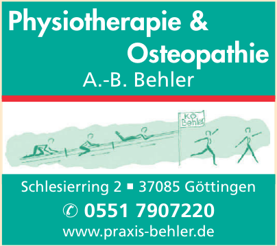 Physiotherapie & Osteopathie A.-B. Behler