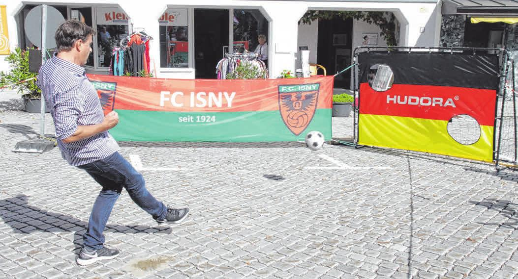 Sportlich unterwegs beim FC Isny