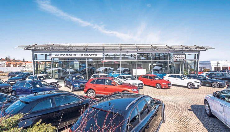 Das Autohaus Lassotta in Meißen erwartet Sie im Sommer zur Probefahrt der ersten kompakten Elektro-SUV von Audi