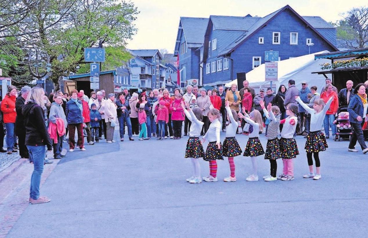 Nette Programmpunkte gehören in Neuhaus am Rennweg ebenfalls zum Frühlingsfest mit verkaufsoffenem Sonntag. Foto: Kleinteich