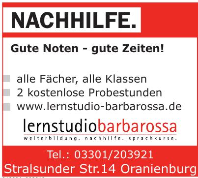 Lernstudio Barbarossa Oranienburg