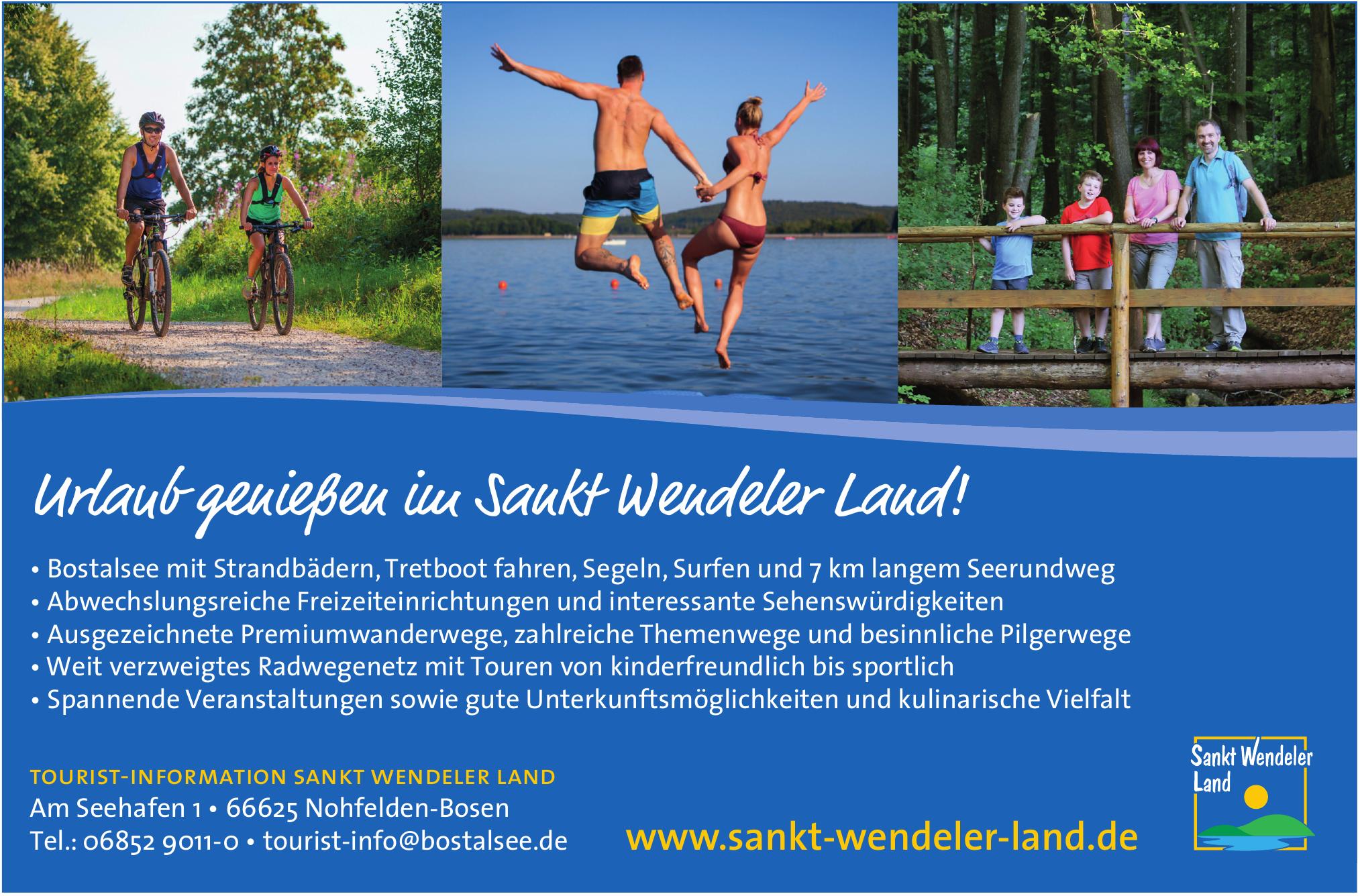 Tourist-Information Sankt Wendeler Land