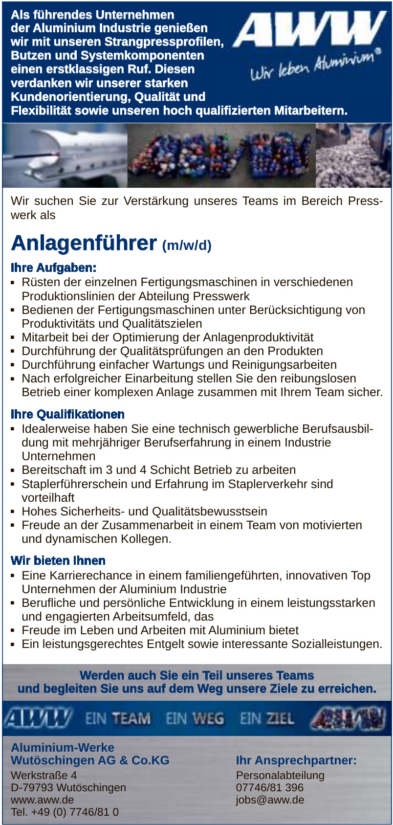 Aluminium-Werke Wutöschingen AG & Co.KG
