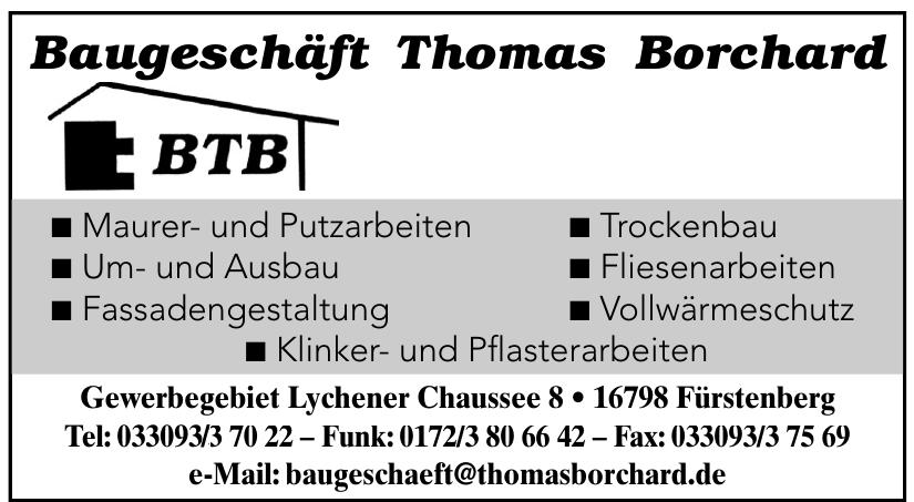 BTB-Baugeschäft Thomas Borchard