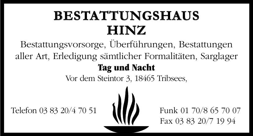 Bestattungshaus Hinz
