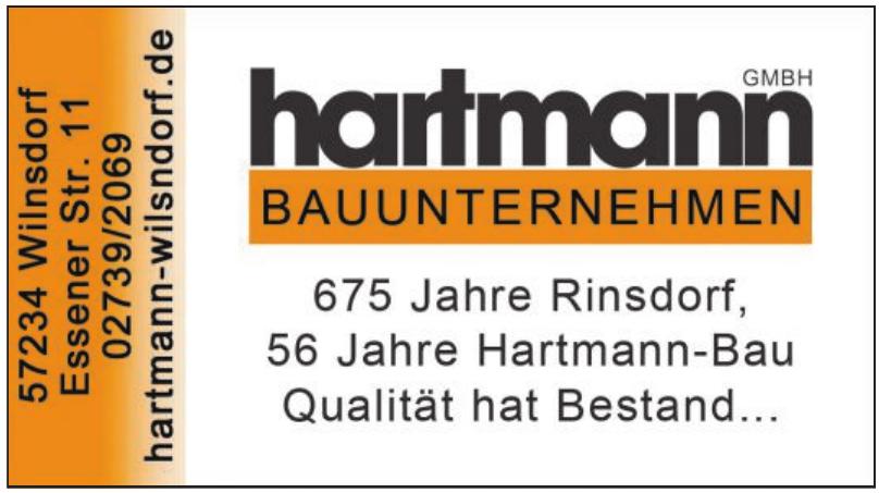 Bauunternehmen hartmannGmbH