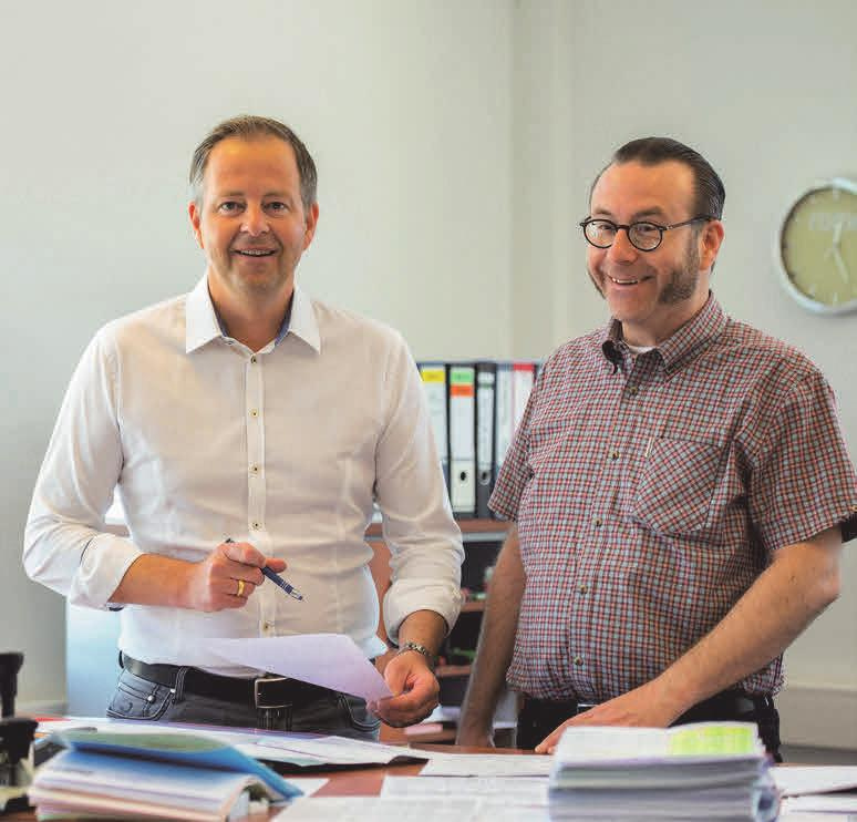 Andreas und Wolfgang Marquardt