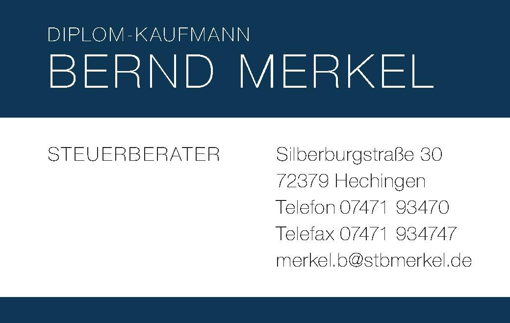 Diplom-Kaufmann Bernd Merkel