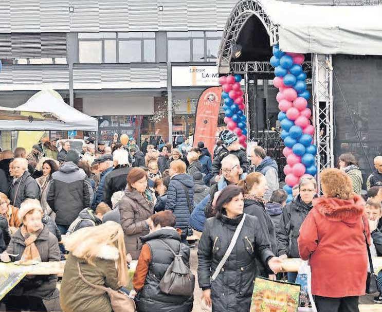 Am Sonntag, 10. Mai, ist im Einkaufspark viel los: Die GBK lädt zur 13. Gewerbeschau ein, die Geschäftsleute zum verkaufsoffenen Sonntag.