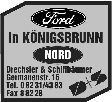 Ford in Königsbrunn - Drechsler & Schiffbäumer