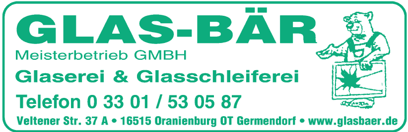 Glas-bär Meisterbetrieb GmbH