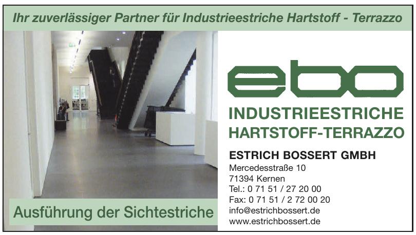 Estrich Bossert GmbH