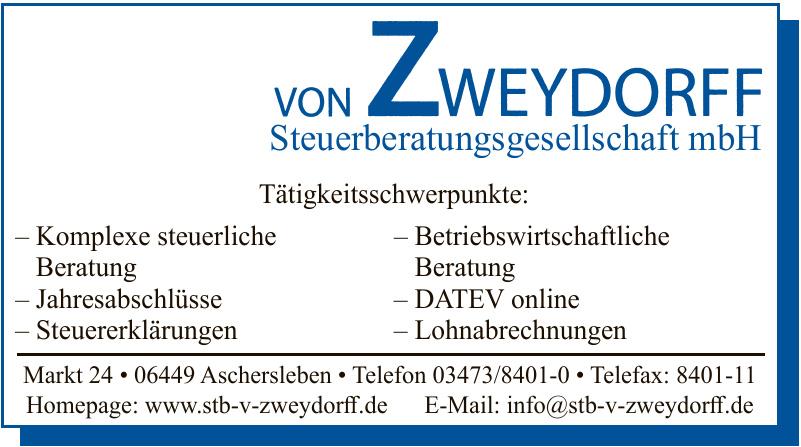 Von Zweydorff Steuerberatungsgesellschaft mbH