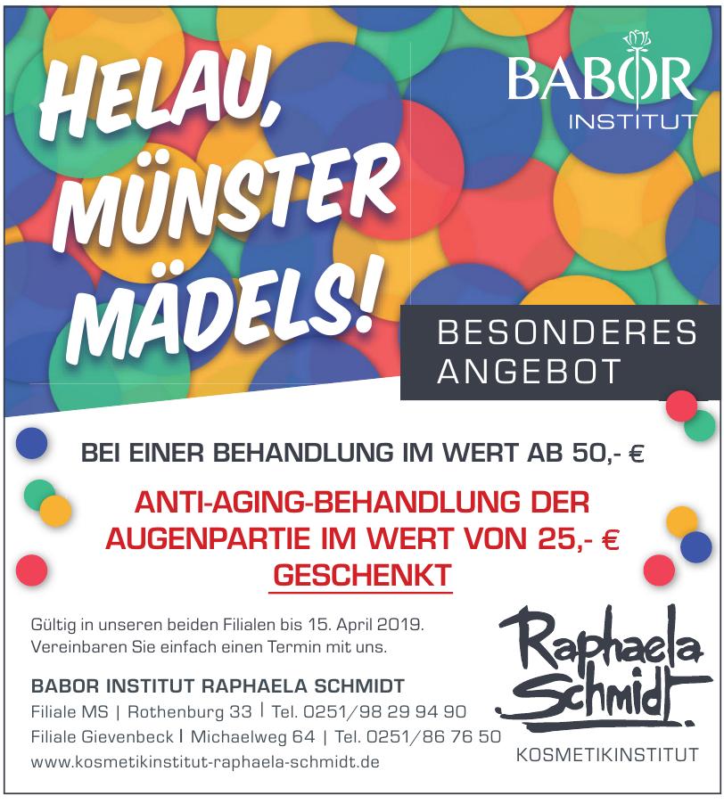 Babor Institut Raphaela Schmidt