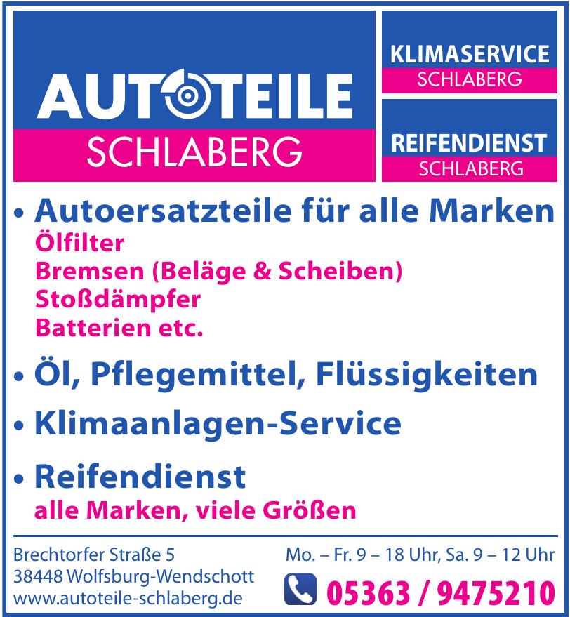 Autoteile Schlaberg