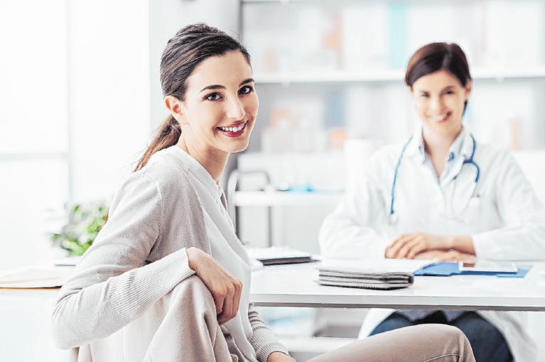Frauen ab 20 Jahren können einmal im Jahr zur Gebärmutterhalskrebsvorsorge gehen. FOTO: SHUTTERSTOCK