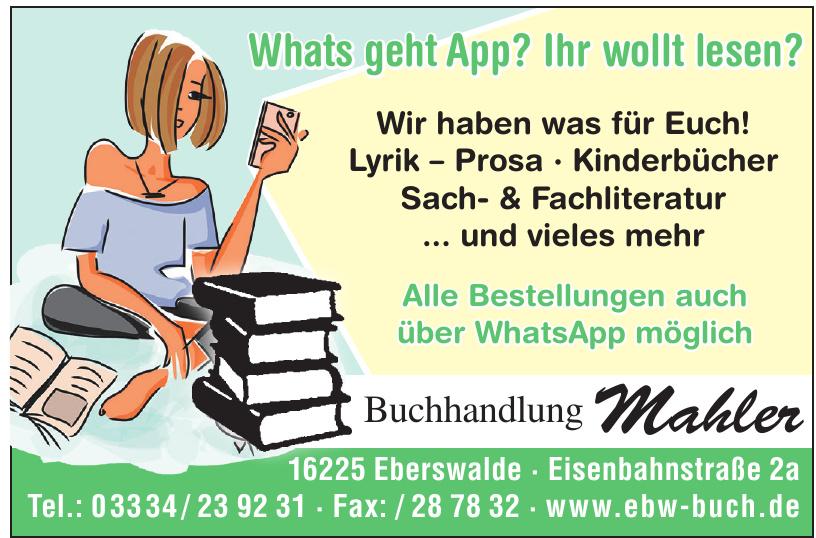 Buchhandlung Mahler