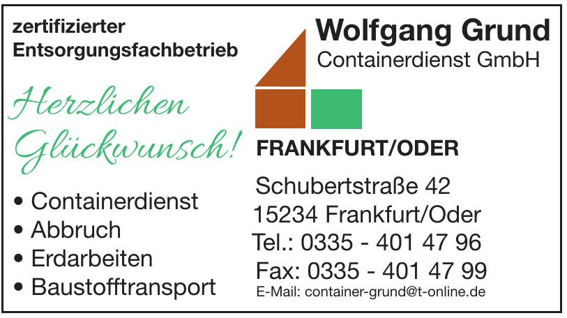 Wolfgang Grund Containerdienst GmbH