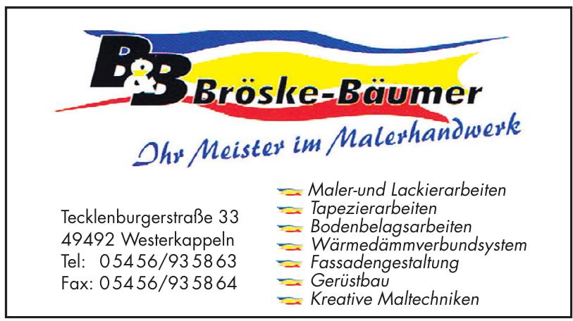 B&B Bröske-Bäumer