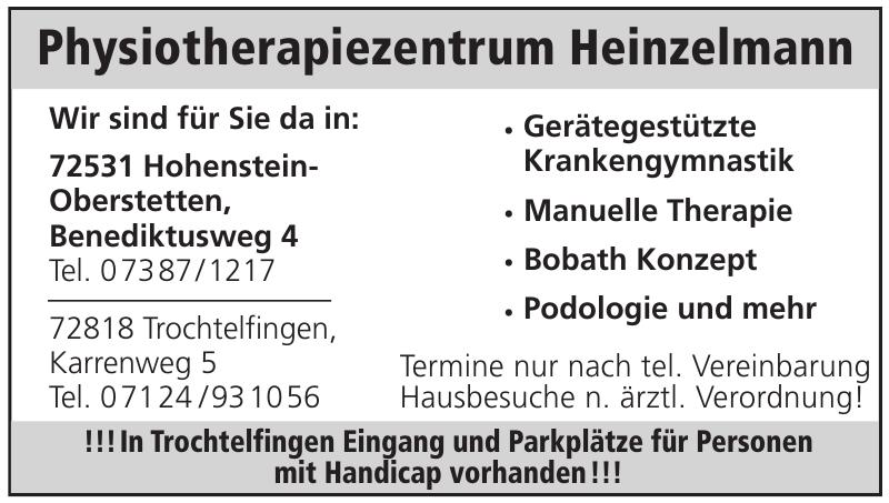 Physiotherapiezentrum Heinzelmann