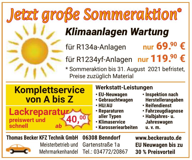 Thomas Becker KFZ Technik GmbH