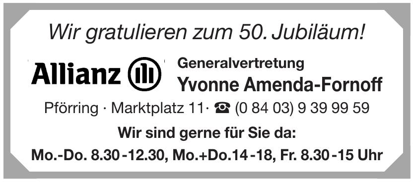 Allianz - Yvonne Amenda-Fornoff