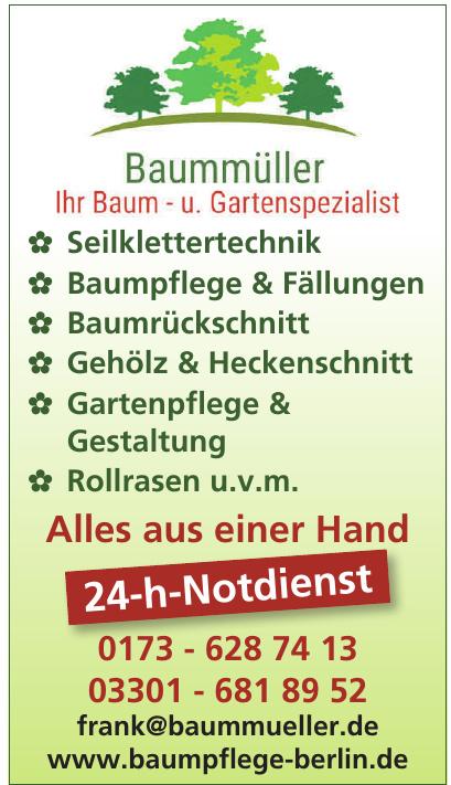 Baummüller