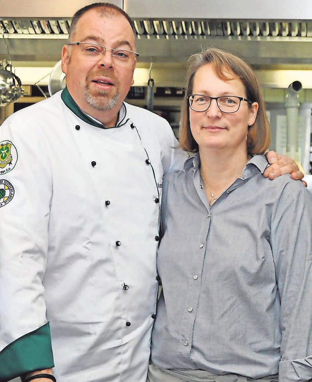 Das Ehepaar Behm arbeitet fast ausschließlich mit Bioprodukten und regionalen Anbietern zusammen.