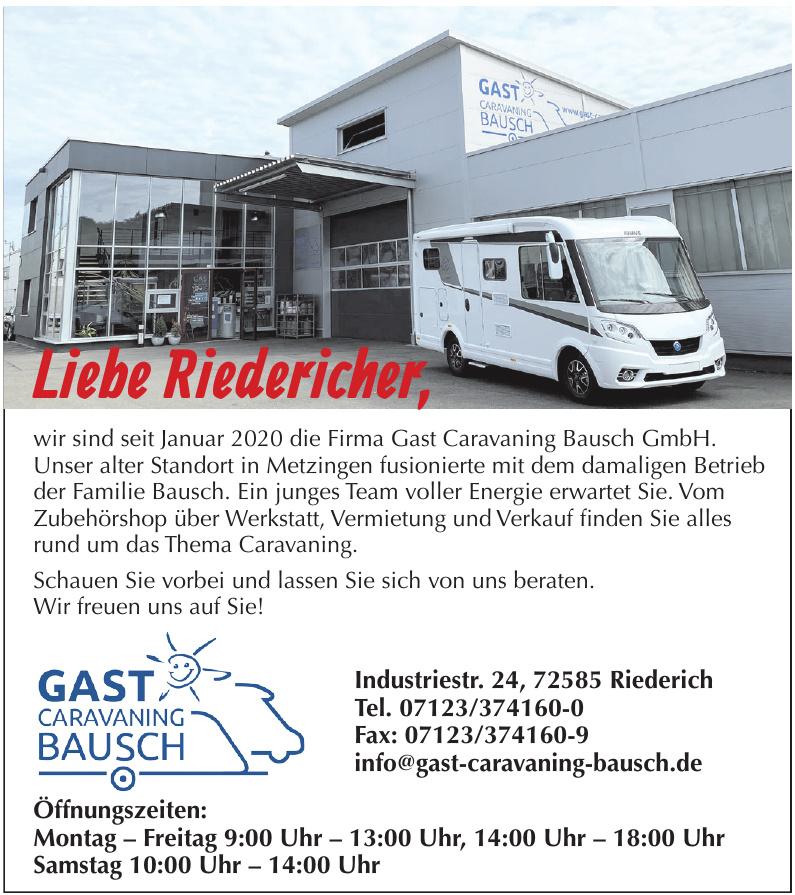 Gast Caravaning Bausch