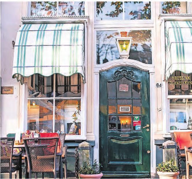 In Deventer laden Restaurants in schmucken, kleinen Häusern zu einer Rast ein.