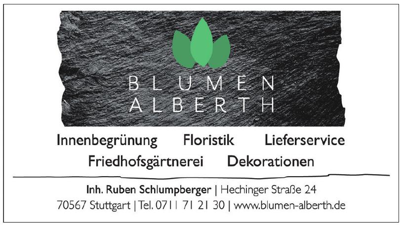 Alberth Blumen