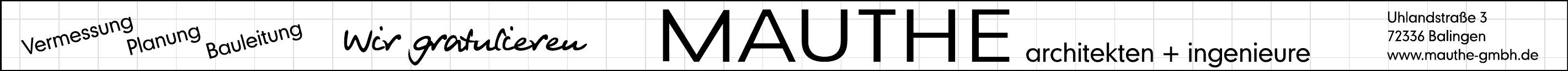 Mauthe Architekten + Ingenieure