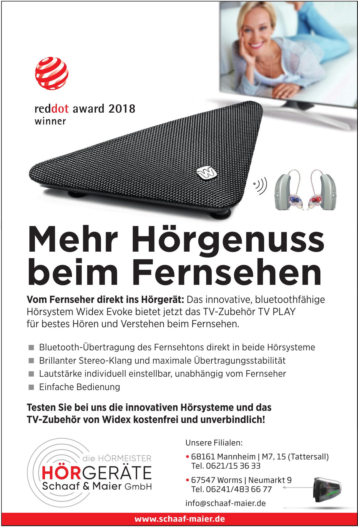 Hörgeräte Schaaf & Maier GmbH