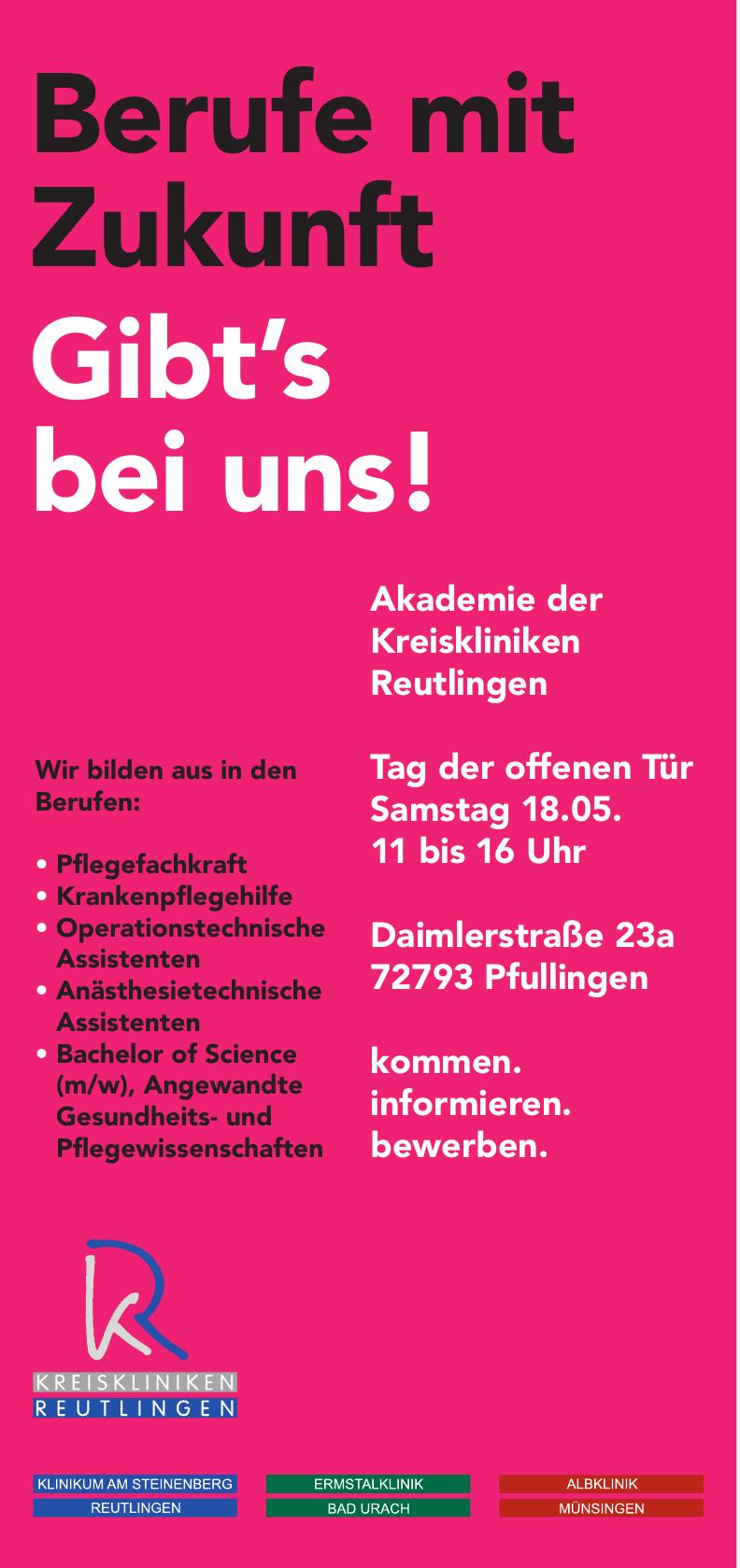 Akademie der Kreiskliniken Reutlingen