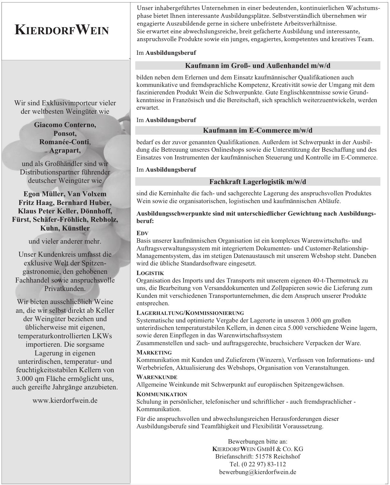 Kierdorfwein GmbH & Co. KG