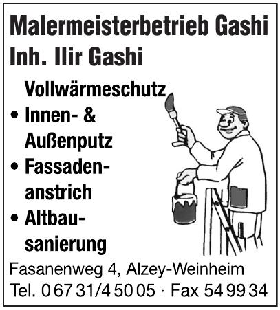 Malermeisterbetrieb Gashi