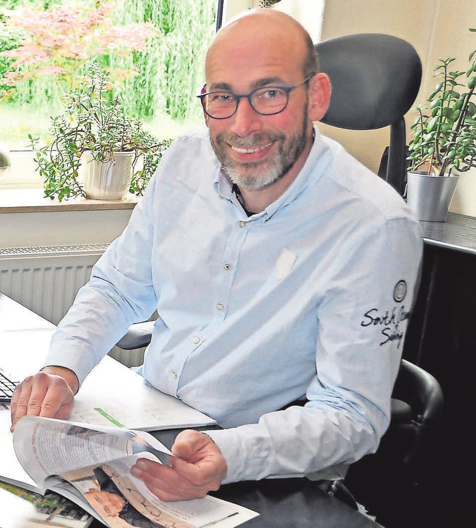 Peter Remm, Vorsitzender des Wirtschaftsforums Südstadt e. V., kämpft für die Belange der Mitgliedsbetriebe.