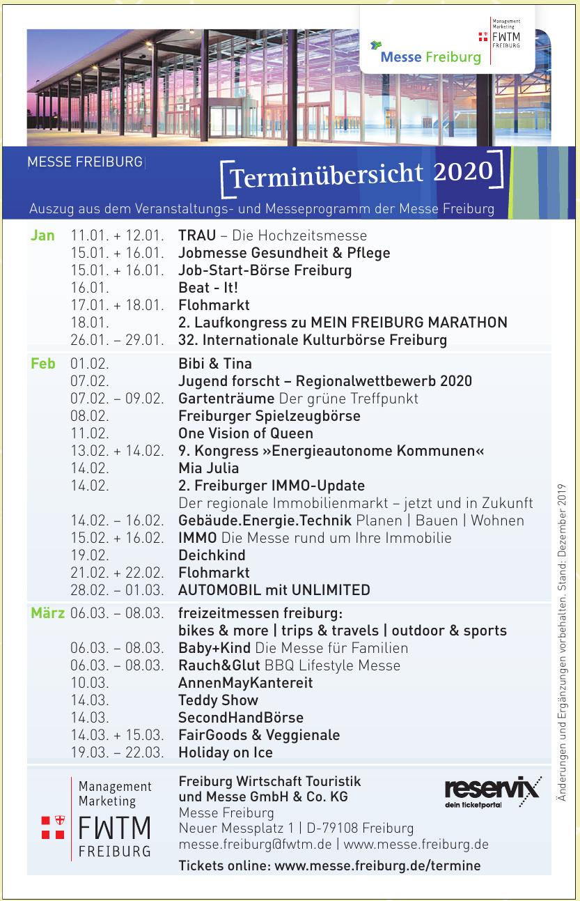 Freiburg Wirtschaft Touristik und Messe GmbH & Co. KG