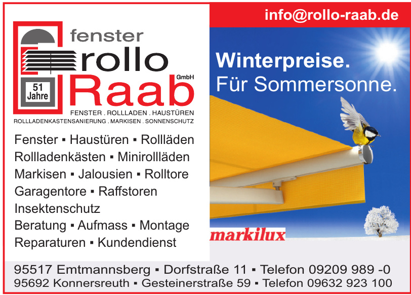 Fenster Rollo Raaab GmbH