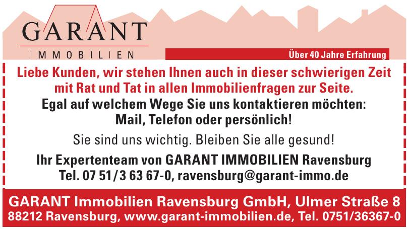 GARANT Immobilien Ravensburg GmbH