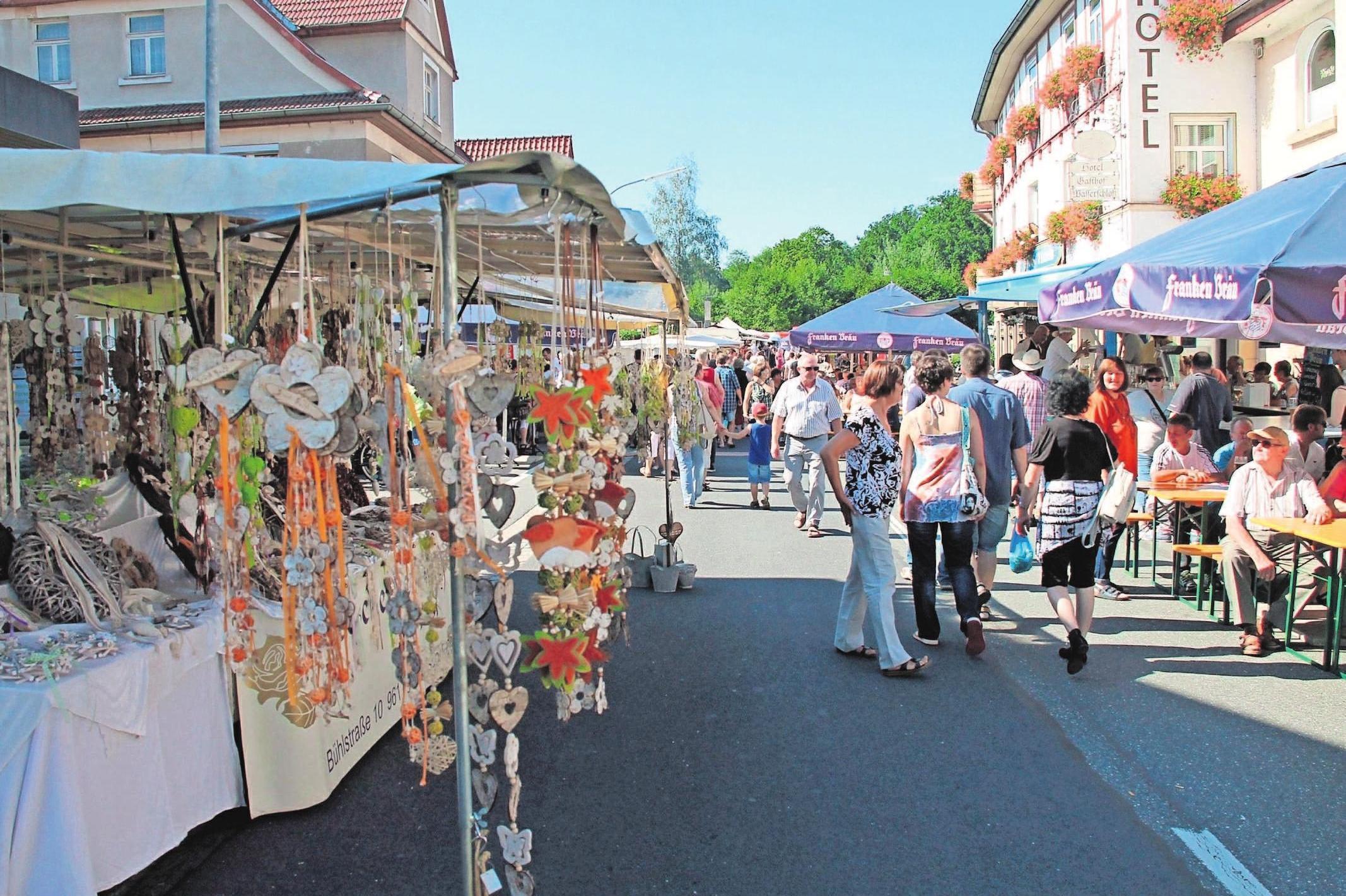 Der Markt Mitwitz wünscht allen Einheimischen und Gästen auch heuer wieder ein schönes Kirchweihfest. Foto: hf