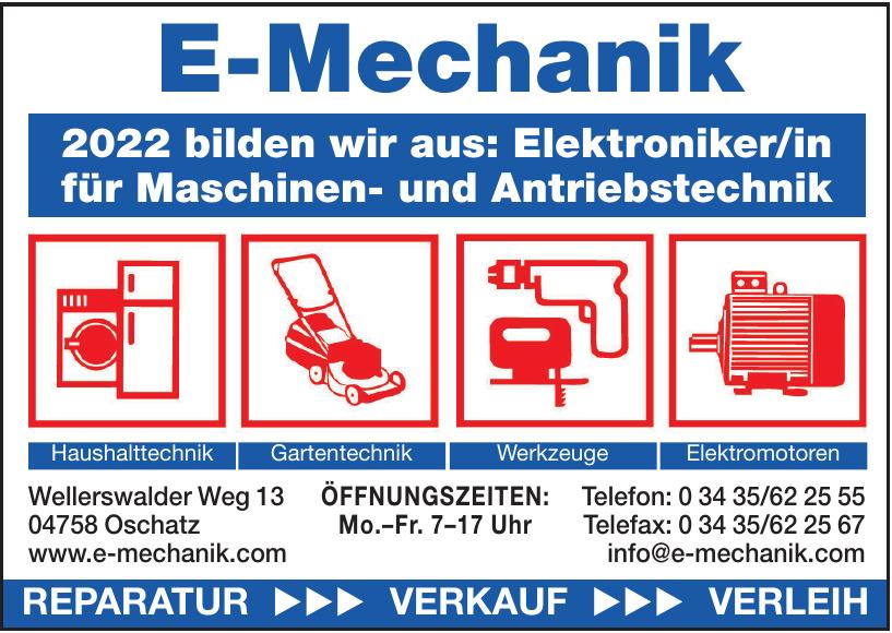 E-Mechanik