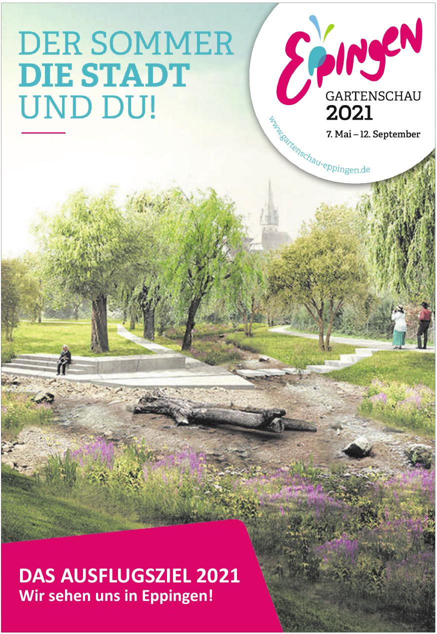 Gartenschau Eppingen 2021 Geschäftsstelle