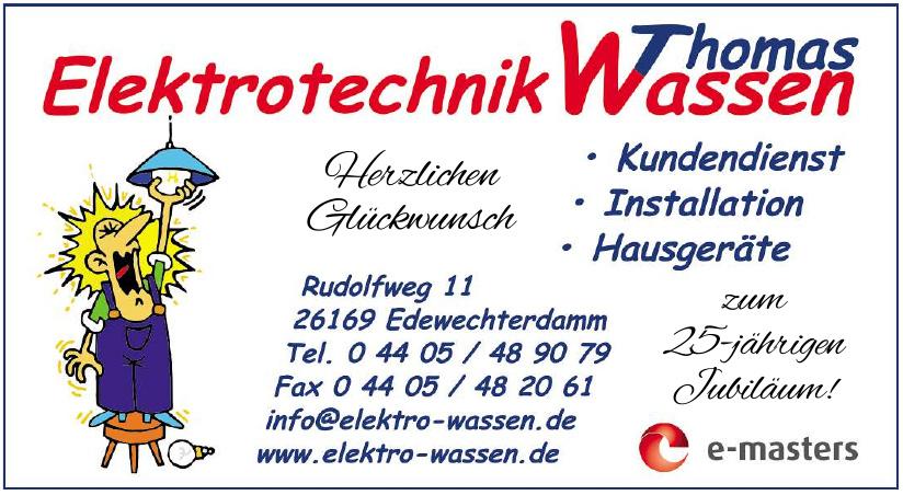 Elektrotechnik Thomas Wassen